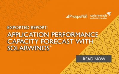 Exported Report: Application Performance Capacity Forecast