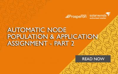 Automatic Node Population & Application Assignment (Part 2)