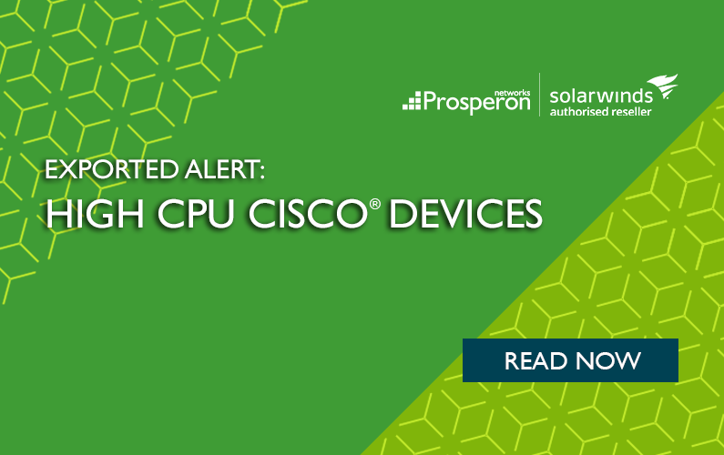 Exported Alert – High CPU Cisco Devices