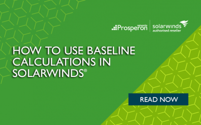 How to Use Baseline Calculations in SolarWinds