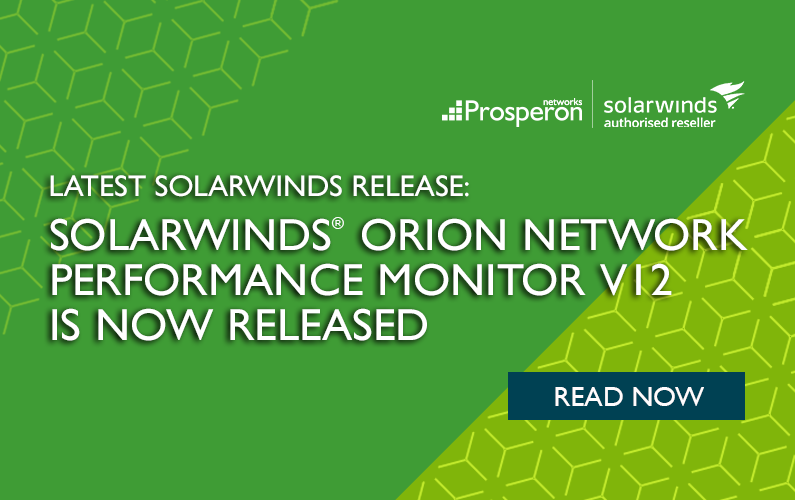 SolarWinds Orion Network Perfomance Manager V12 Released