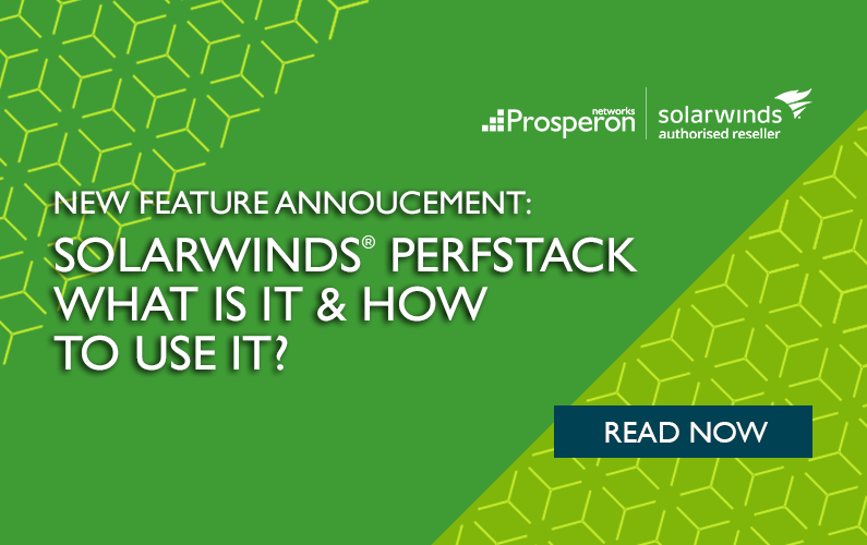 SolarWinds PerfStack – What Is It & How To Use It