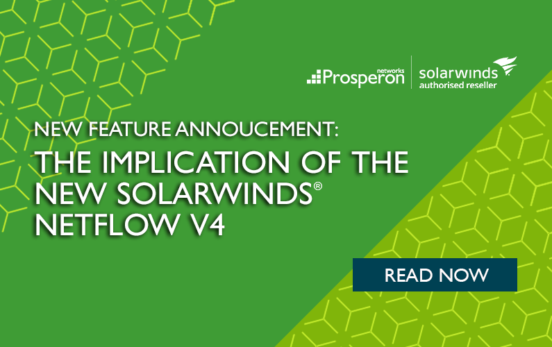 The Implication of the New SolarWinds Netflow v4