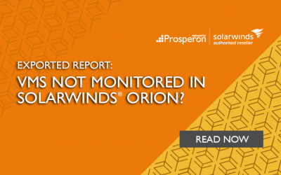 Exported Report: VMs Not Monitored In SolarWinds Orion