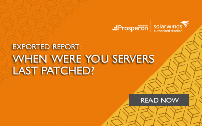 Exported Report: When Were Your Servers Last Patched?