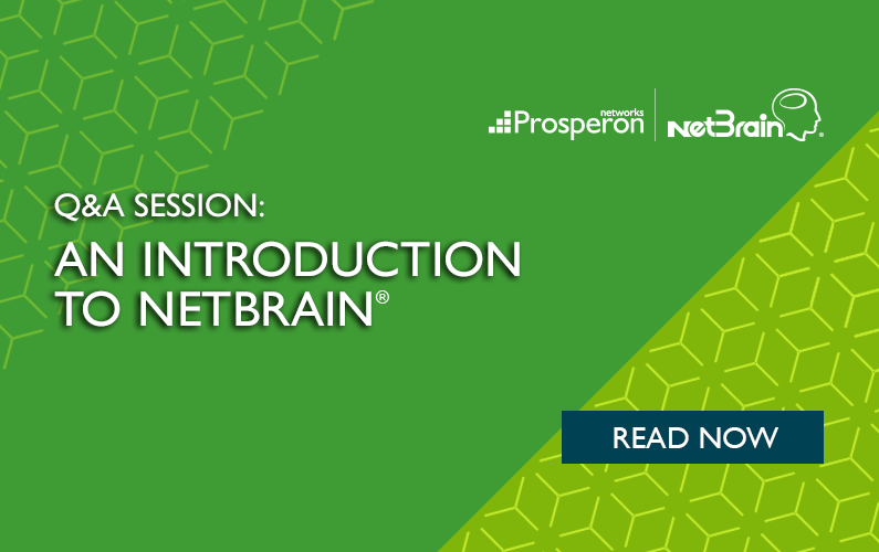 Q&A Session: An Introduction To NetBrain