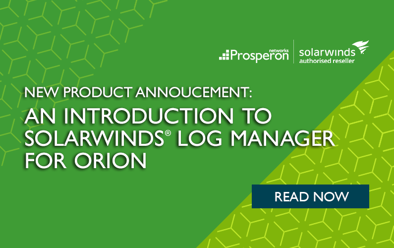 An Introduction To The New SolarWinds Log Manager for Orion
