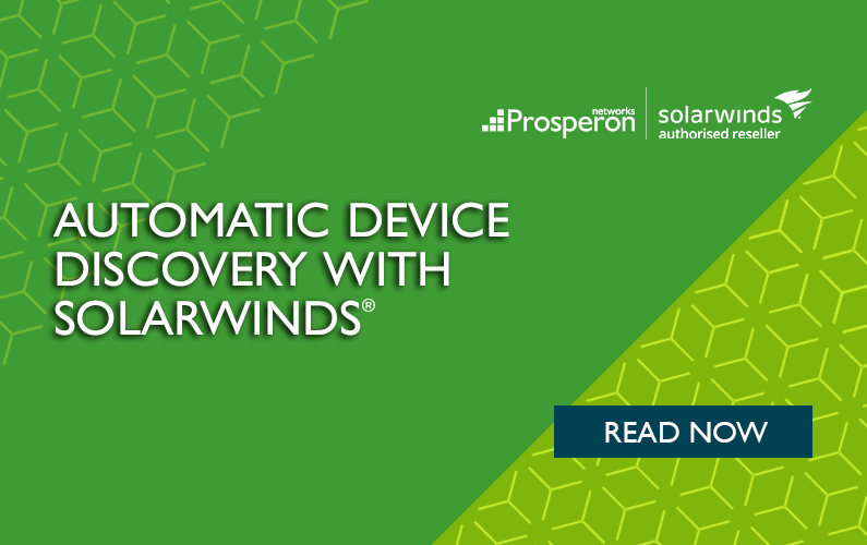 Automatic Device Discovery with SolarWinds