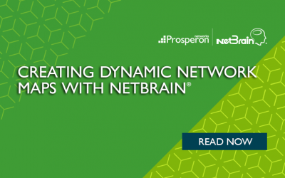 Creating Dynamic Network Maps With NetBrain