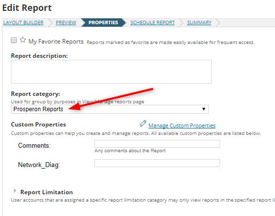 Edit Report (Insight Image) - Prosperon Networks