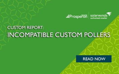 Custom Report: Incompatible Custom Pollers