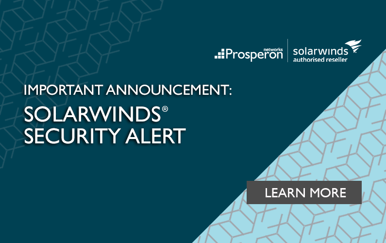 Important Announcement: SolarWinds Security Alert