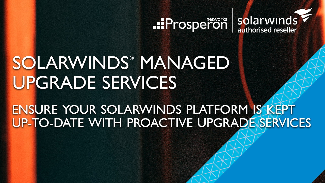 SolarWinds Deployment Services (Video Slate) - Prosperon Networks