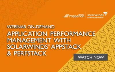 Webinar On-Demand: Application Performance Management with SolarWinds AppStack & PerfStack