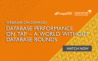 Webinar On-Demand: Database Performance On Tap – A World Without Database Bounds