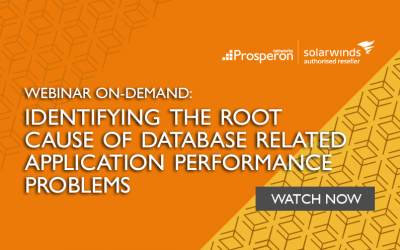 Webinar On-Demand: Identifying the Root Cause of Database Related Application Performance Problems
