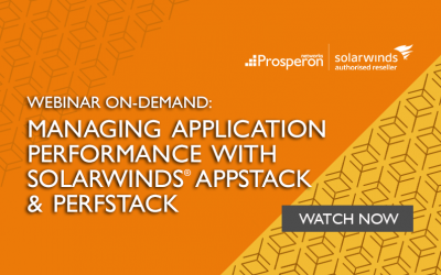 Webinar On-Demand: Managing Application Performance with SolarWinds AppStack & PerfStack