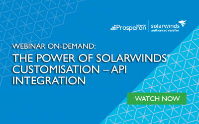 Webinar On-Demand: The Power of SolarWinds Customisation – API Integration