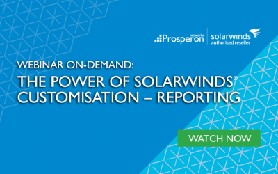 Webinar On-Demand: The Power of SolarWinds Customisation – Reporting