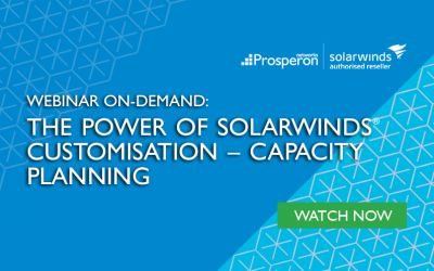 Webinar On-Demand: The Power of SolarWinds Customisation – Capacity Planning