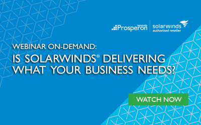 Webinar On-Demand: Is SolarWinds Delivering What Your Business Needs?