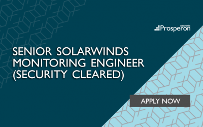 Senior SolarWinds Monitoring Engineer (Security Cleared)